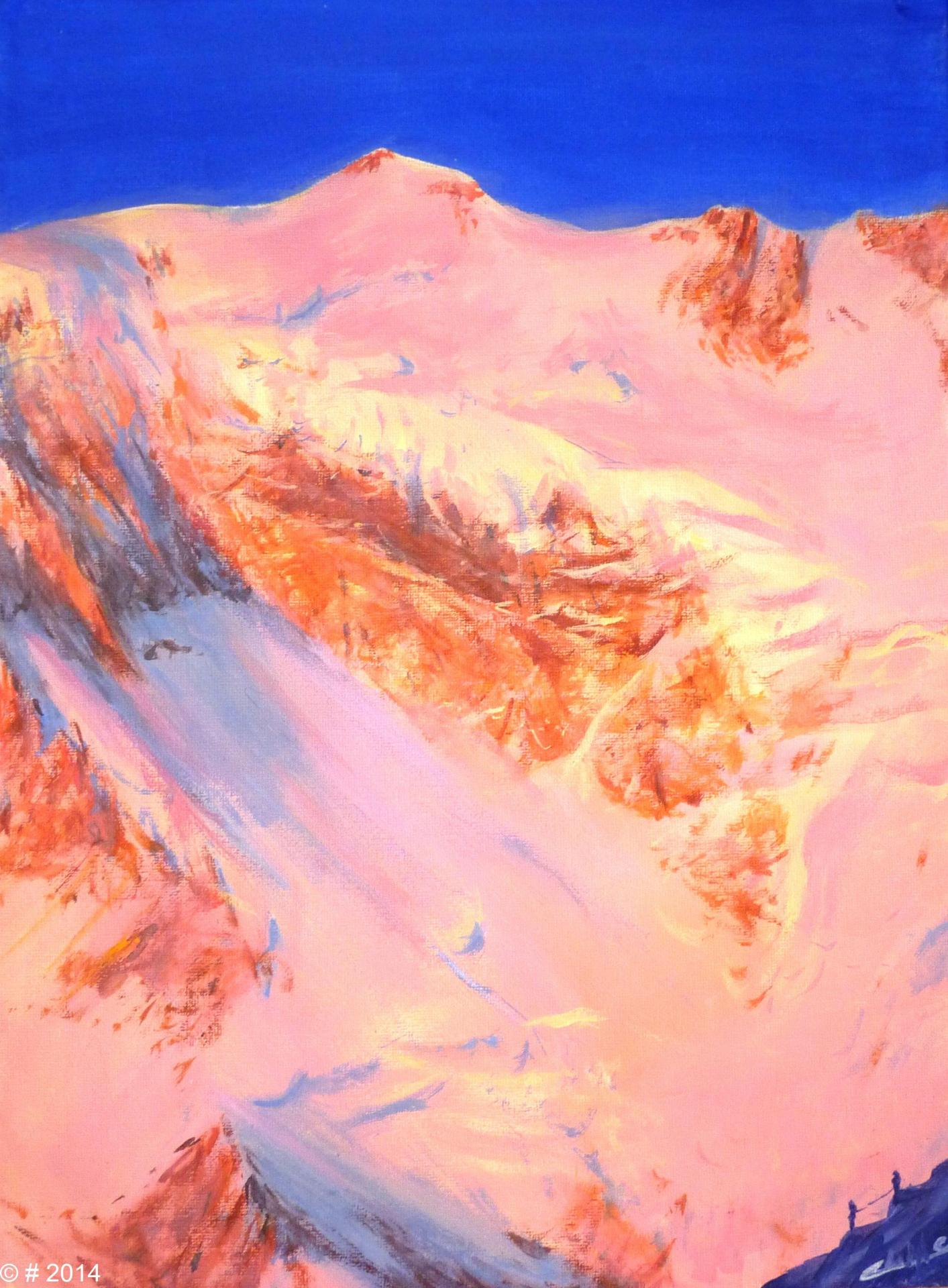 La Pointe Zumstein (4563m)