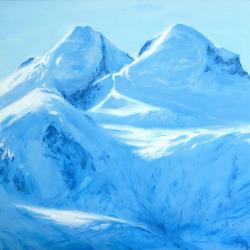 Castor (4223m) et Pollux (4092m)