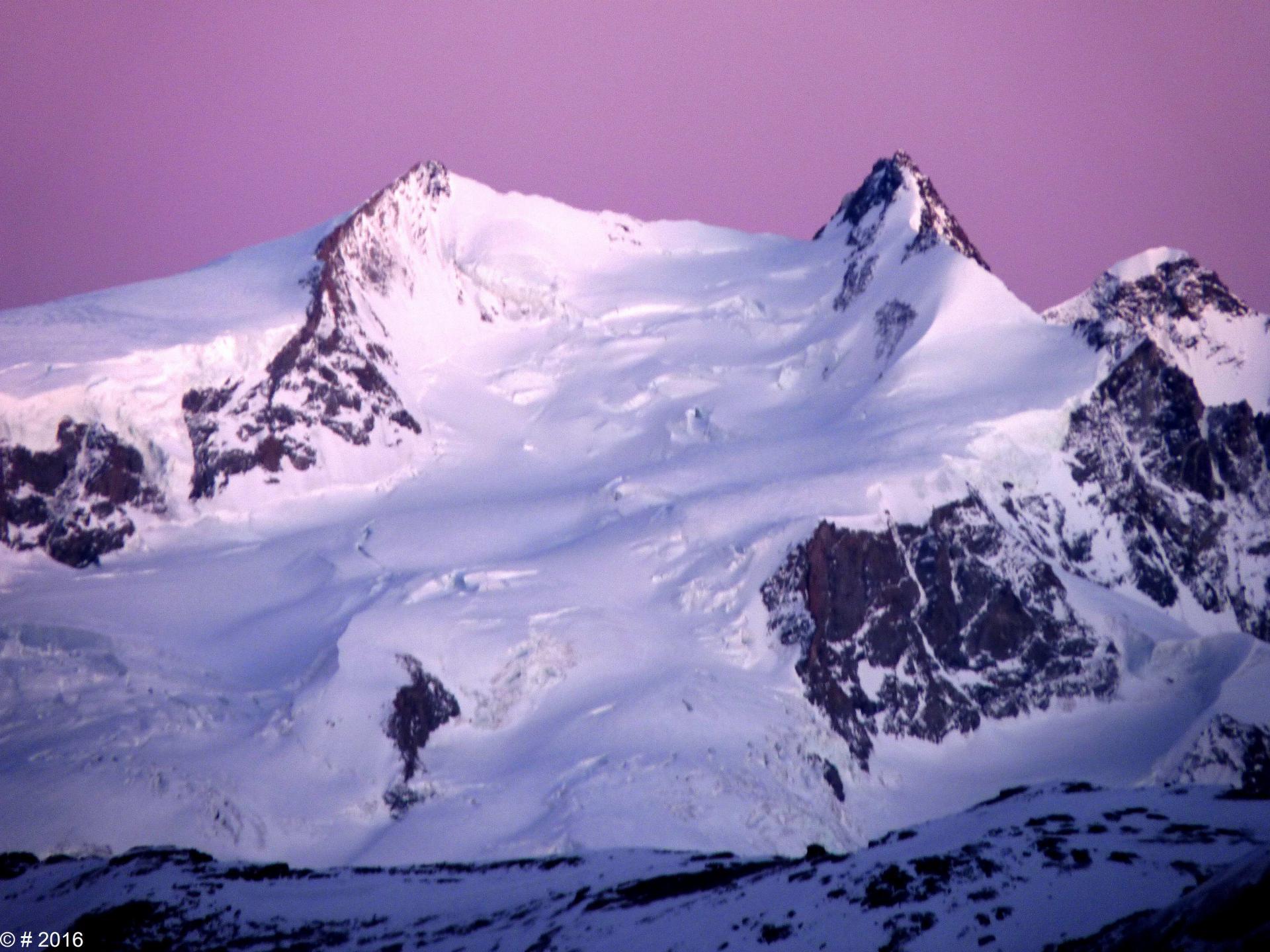Le Mont Rose (4634m)