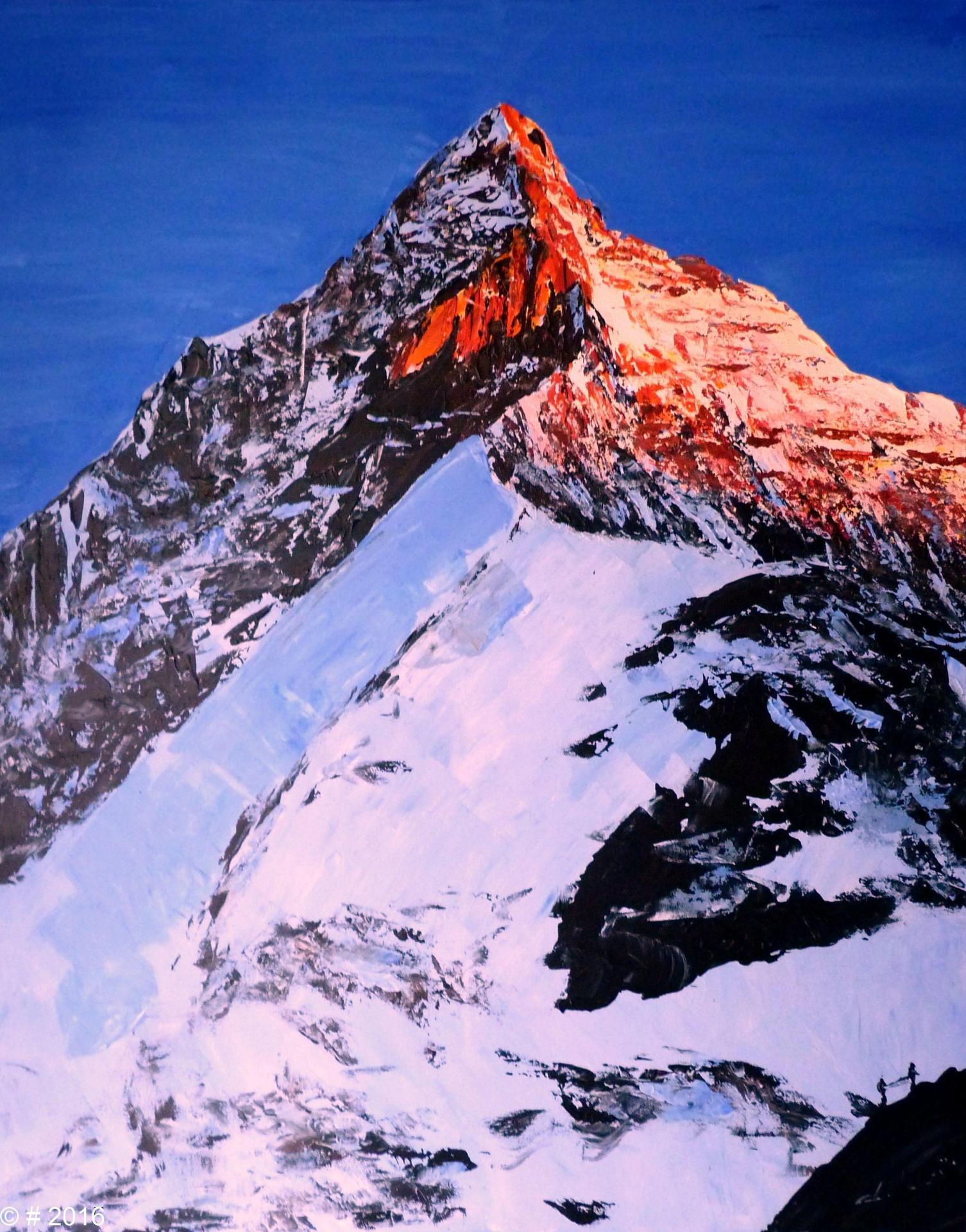 Face ouest du Cervin (4478m)
